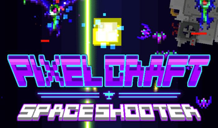 Pixel Craft - Space Shooter iPhone Game Screenshot