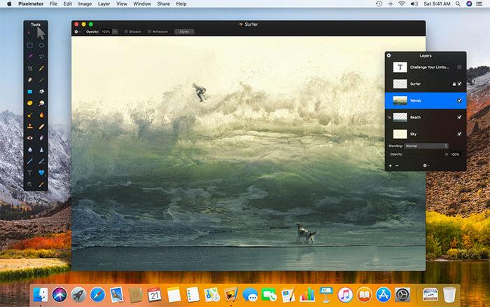 Pixelmator Mac App Screenshot