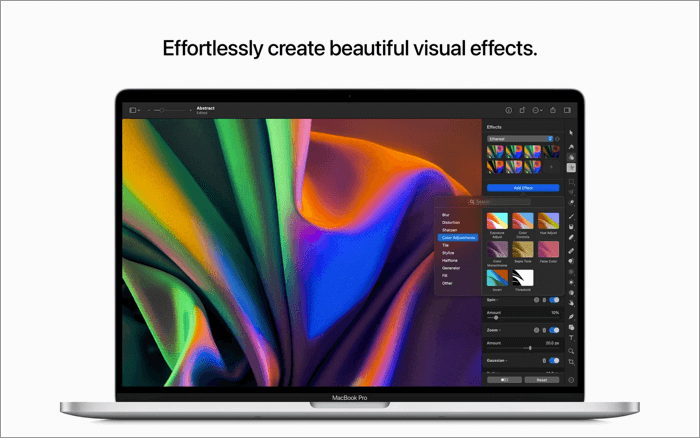 Pixelmator Pro Photo Editing App for Mac Screenshot