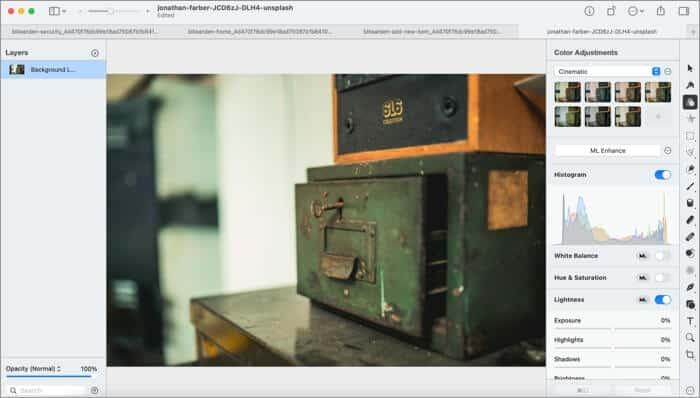 Pixelmator Pro Software for Mac