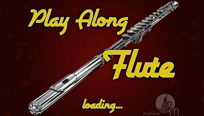 Play Along Flute Learning iOS App Screenshot