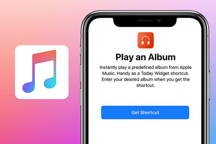 Play An Album Siri Shortcut