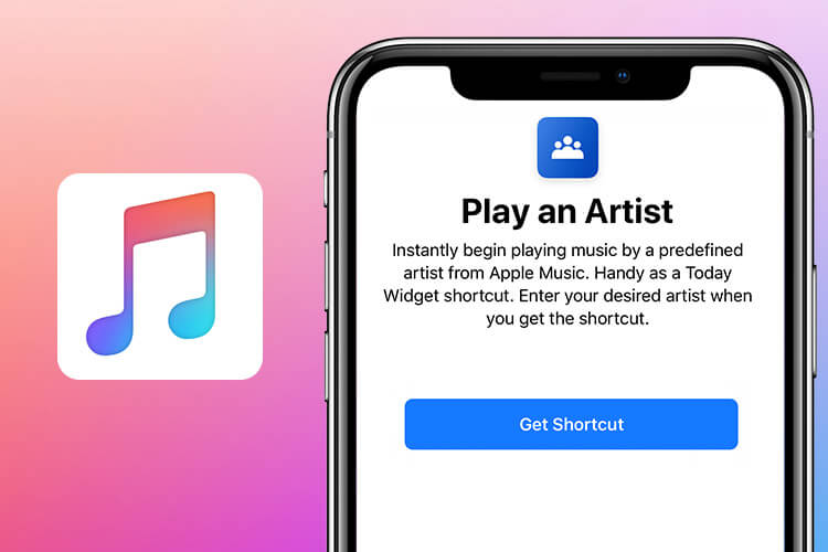 Play An ArtistSiri Shortcut