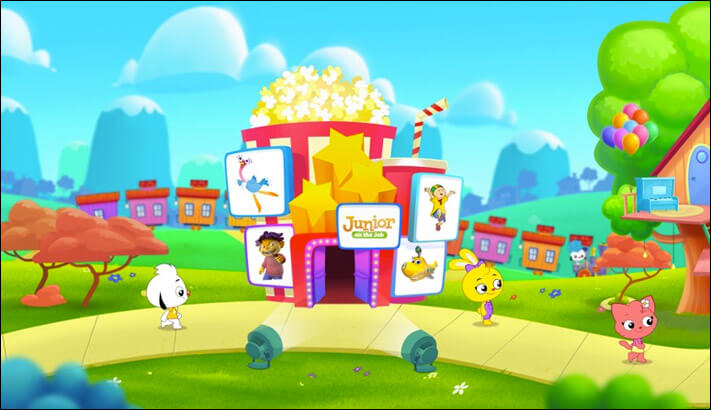 Play Kids Apple TV Educational App Screenshot