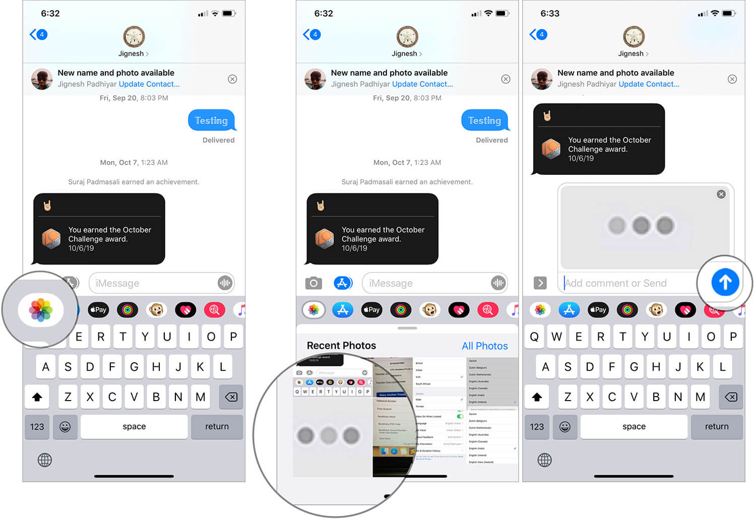 Play The Typing Prank in iMessages