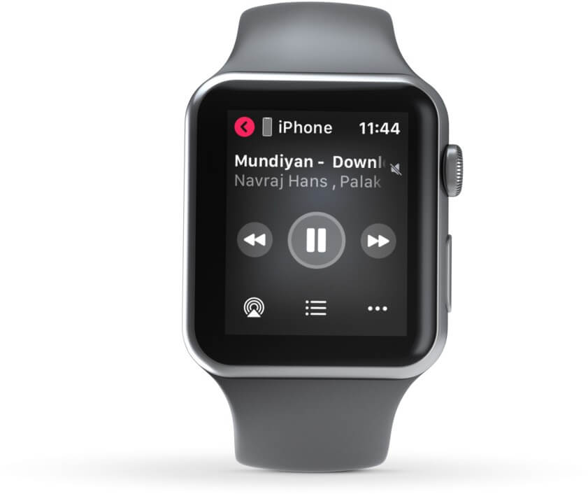 Play iPhone Music on Apple Watch