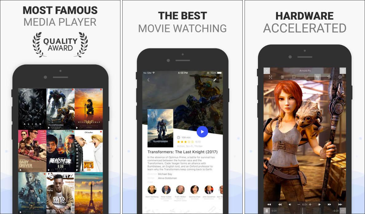 PlayerXtreme Media Player iPad App Screenshot