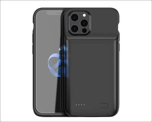 Plus Cases wireless charging battery case for iPhone 12 and 12 Pro