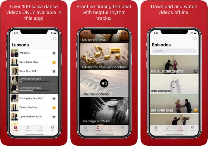 Pocket Salsa iPhone and iPad App Screenshot