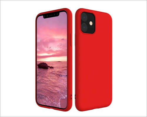 Poleet Ultra Thin Silicone Case for iPhone 11