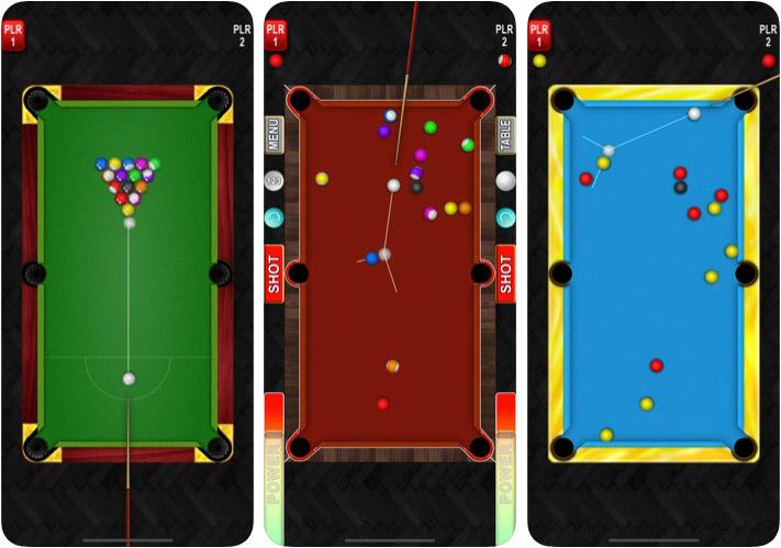 Pool Game App for iPhone and iPad Screenshot