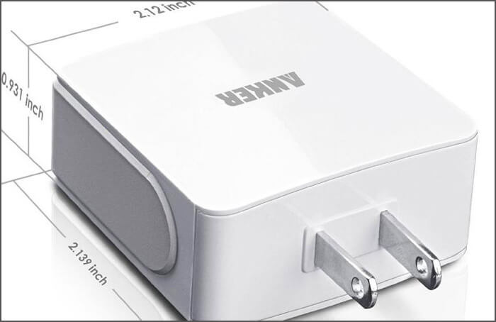Portable Wall Chargers for iPhone and iPad