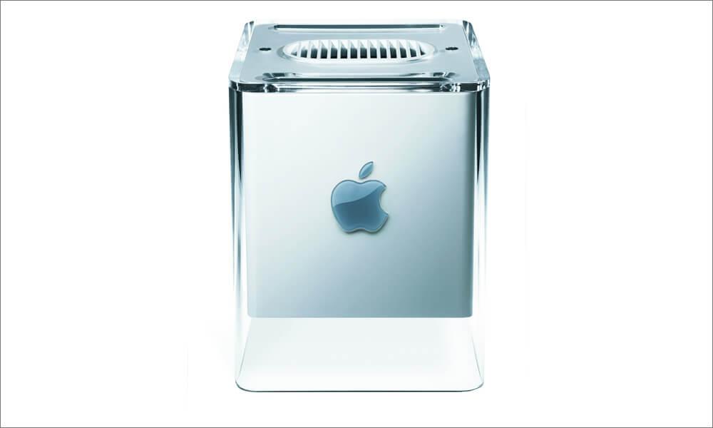 Power Mac G4 Cube designed by Jony Ive
