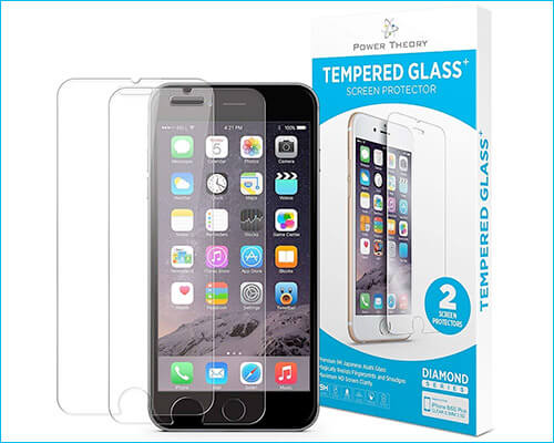Power Theory iPhone 6s Tempered Glass Screen Protector