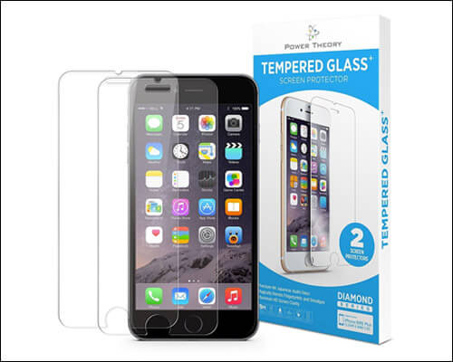 Power Theory iPhone 7 Tempered Glass Screen Protector