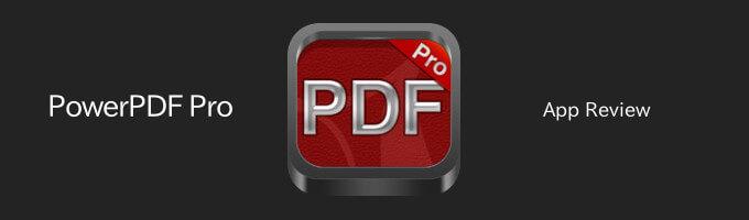 PowerPDFPro iPhone App Review