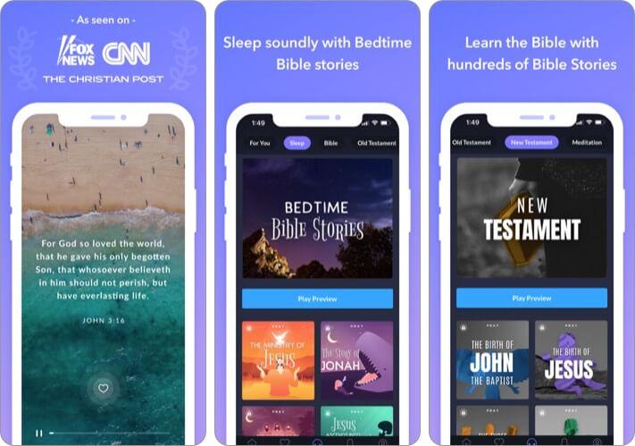 Pray iPhone and iPad App Screenshot