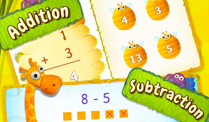 Preschool& Kindergarten Splash Math Educational iPhone Game Screenshot