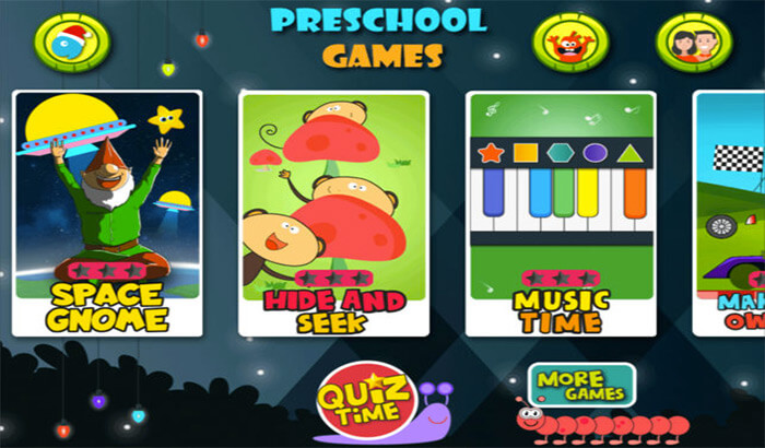 Preschool Learning iPhone and iPad Game Screenshot