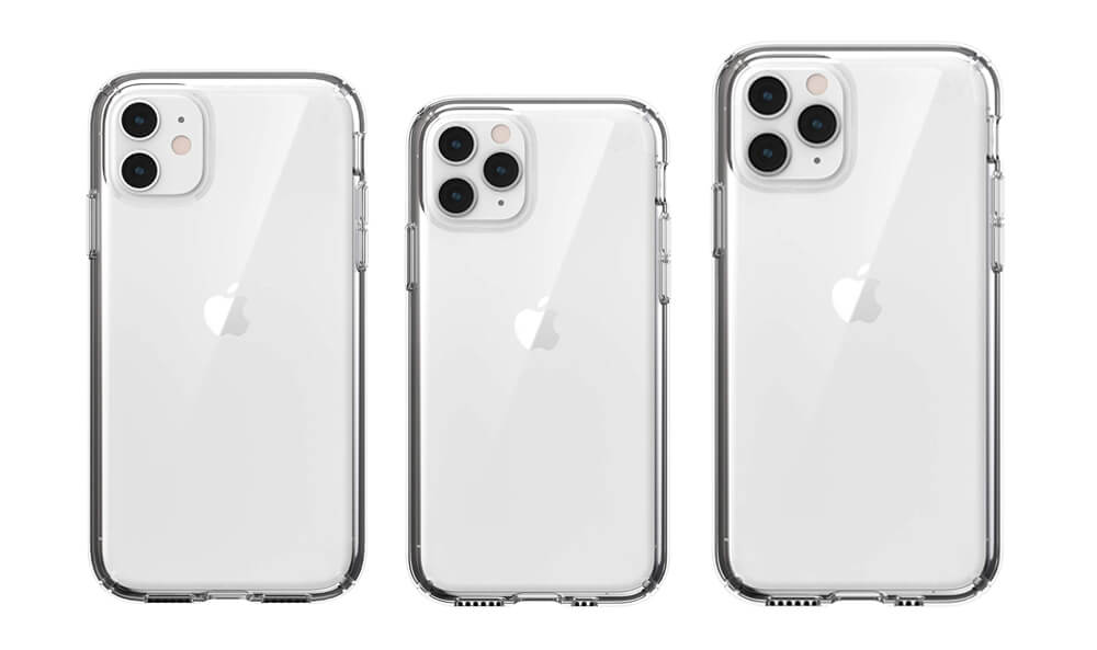 Presidio Stay Clear Speck Case for iPhone 11, 11 Pro, and 11 Pro Max
