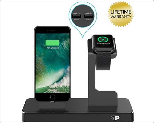 Press Play Apple Watch Docking Station