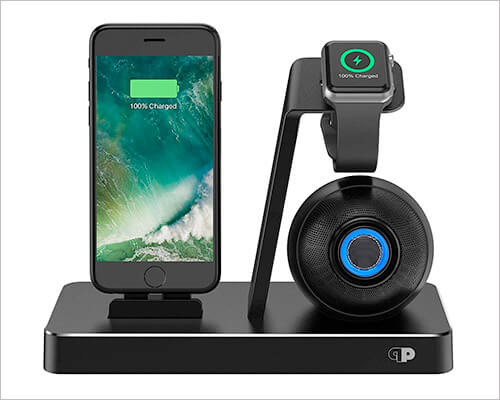 Press Play iPhone 6-6s Plus Docking Station With Speaker