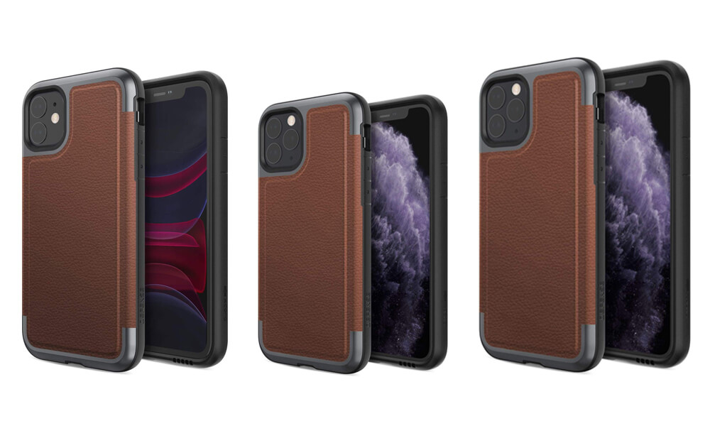 Prime Series Leather Protective Case from Defense for iPhone 11 Pro Max, 11 Pro, and iPhone 11