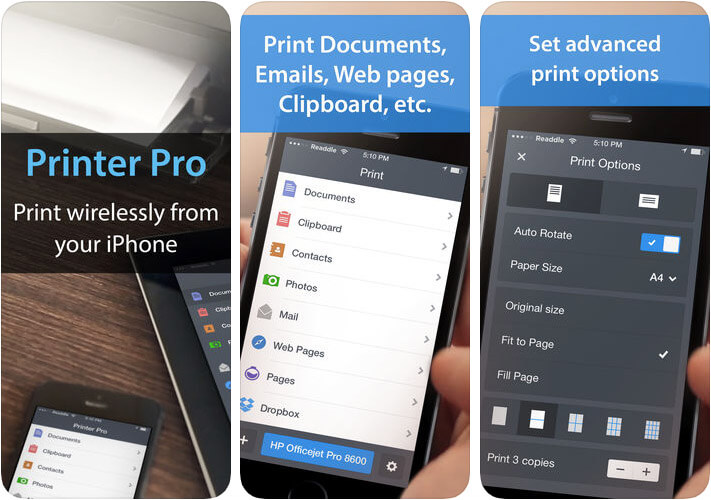 Printer Pro by Readdle iPhone and iPad App Screenshot