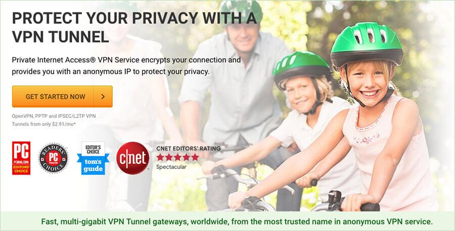 Private Internet Access VPN for Mac