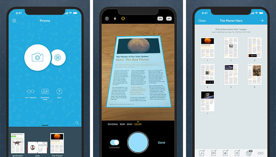 Prizmo 5 Scanning App for iPhone and iPad