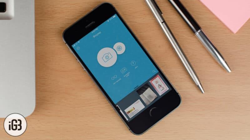 Prizmo 5 iPhone and iPad Scanning App