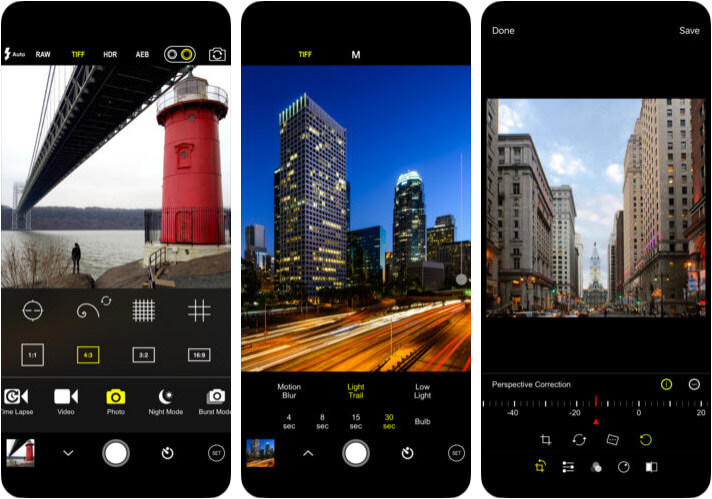 ProCam 6 iPhone and iPad App Screenshot