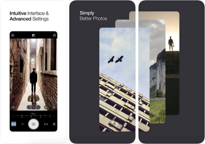 ProCamera iOS App Screenshot