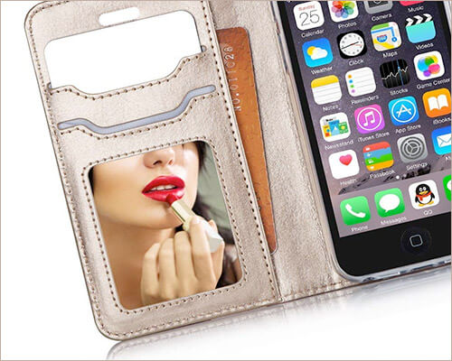 ProCase Wallet Case for iPhone SE, 5s, and iPhone 5