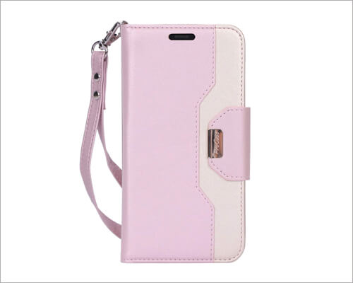 ProCase iPhone 11 Pro PU Leather Flip Folio Cheap Case