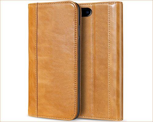 ProCase iPhone 7 Plus Leather Wallet Case