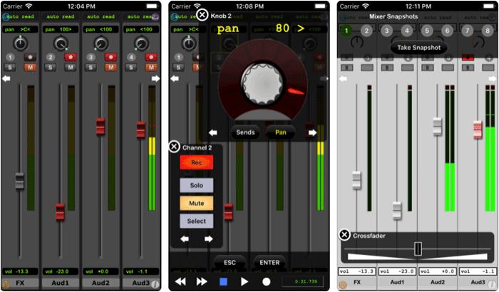 ProRemote iPhone and iPad App Screenshot