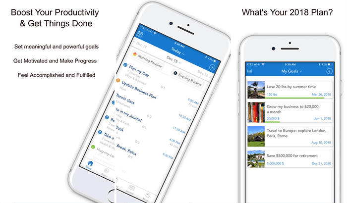 Productivity – Day Planner Productive Task Manager iPhone and iPad App Screenshot