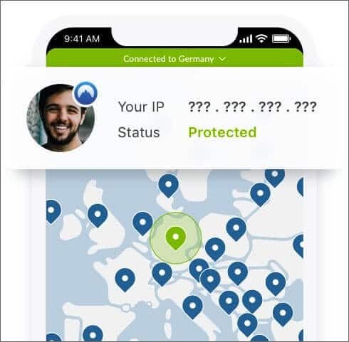 Protect IP Address with NordVPN