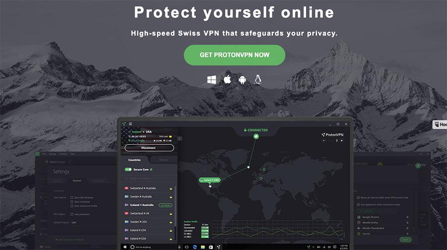 ProtonVPN for Mac