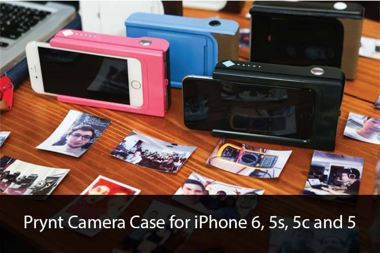 Prynt Camera Case for iPhone 6, 5s, 5c and 5
