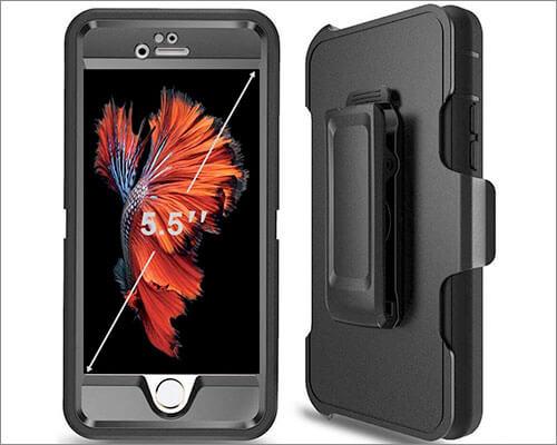 Ptuna iPhone 6s Plus Belt Clip Case