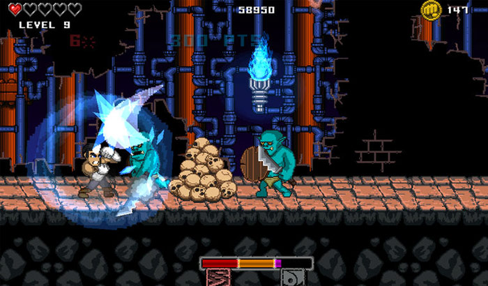 Punch Quest iPhone and iPad Game Screenshot