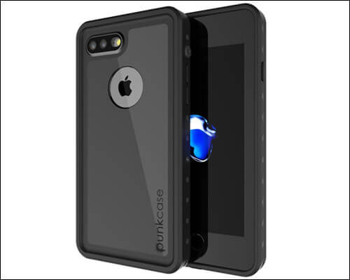 Punkcase Waterproof Case for iPhone 7 Plus