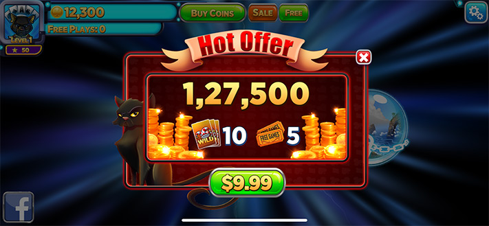 Purchase Extra Coins and Free Plays in Solitaire Time Warp Game