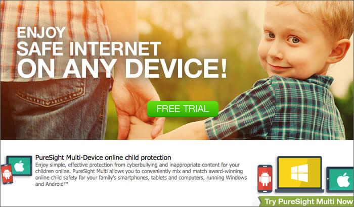 PureSight Parental Control Software for Mac