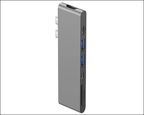 Purgo USB C Hub Adapter for Macbook Pro