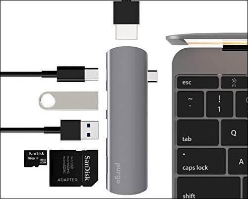 Purgo USB Type C Hub for iPad Pro 2018