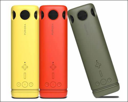 Puridea Bluetooth Speaker Color Options