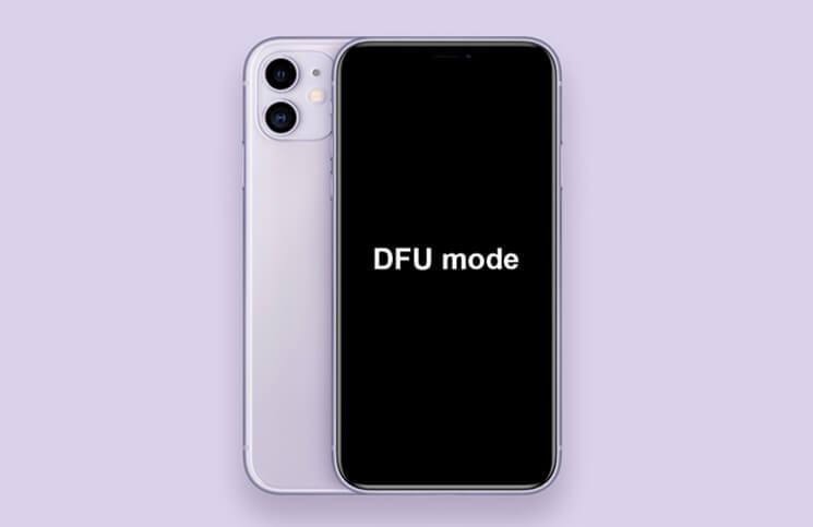 Put iPhone 11, 11 Pro, 11 Pro Max into DFU Mode